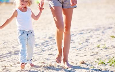 Camminare sulla sabbia fa bene?