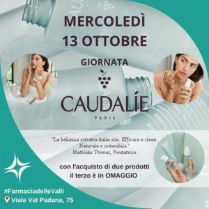 Mercoledì 13 Ottobre, giornata promozionale Caudalíe presso la farmacia delle Valli, Talenti
