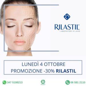 lunedì 4 ottobre giornata Rilastil presso la Farmacia Facciolà, Trastevere