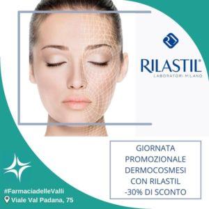 mercoledì 6 ottobre giornata promozionale Rilastil presso la farmacia delle Valli, Talenti